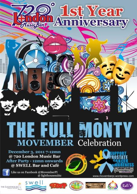 MovemberPI 2011 Party