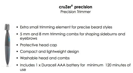 Cruzer6 Precision Trimmer