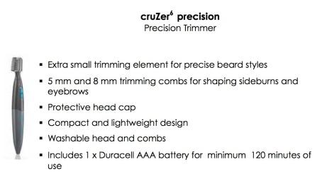 Cruzer6 Precision Trimmer